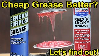 Is Cheap Grease better than Lucas Red N Tacky? Let's find out! Bearing Grease Test Episode 1