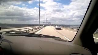 Malmö-Copenhagen via Oresund Bridge