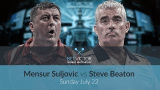 Mensur Suljovic vs Steve Beaton | BetVictor World Matchplay Preview Show | Darts 🎯