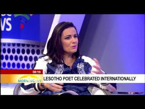 Lesotho poet celebrated internationally