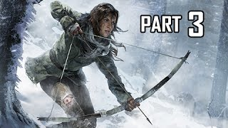 Rise of the Tomb Raider Walkthrough Part 3 - The Red Mine Tomb (Let's Play Gameplay Commentary)