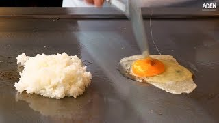 Egg Fried Rice in Japan - 3 different Styles/Chefs