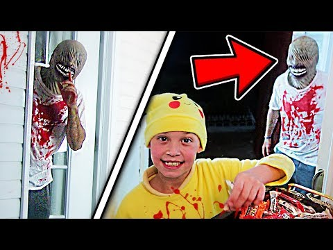 SCARING LITTLE KIDS TO DEATH PRANK! (GONE WRONG)