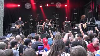 "HEAVY MONTREAL 2015 - CATTLE DECAPITATION ""Mammals In Babylon"" live - 07/08/2015"