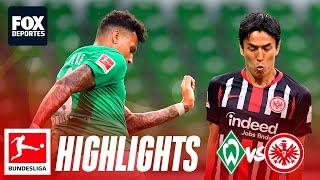 Werder Bremen 0-3 Eintracht Fr…