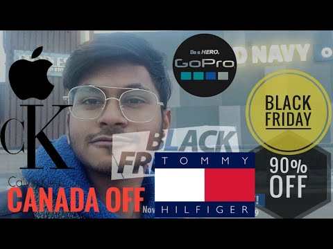 First 'Black Friday' Experience  In Winnipeg,Canada II Bangladeshi Canadian Student