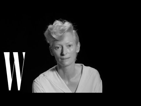 Tilda Swinton Dishes on Who She Thinks is a God | Screen Tests 2015