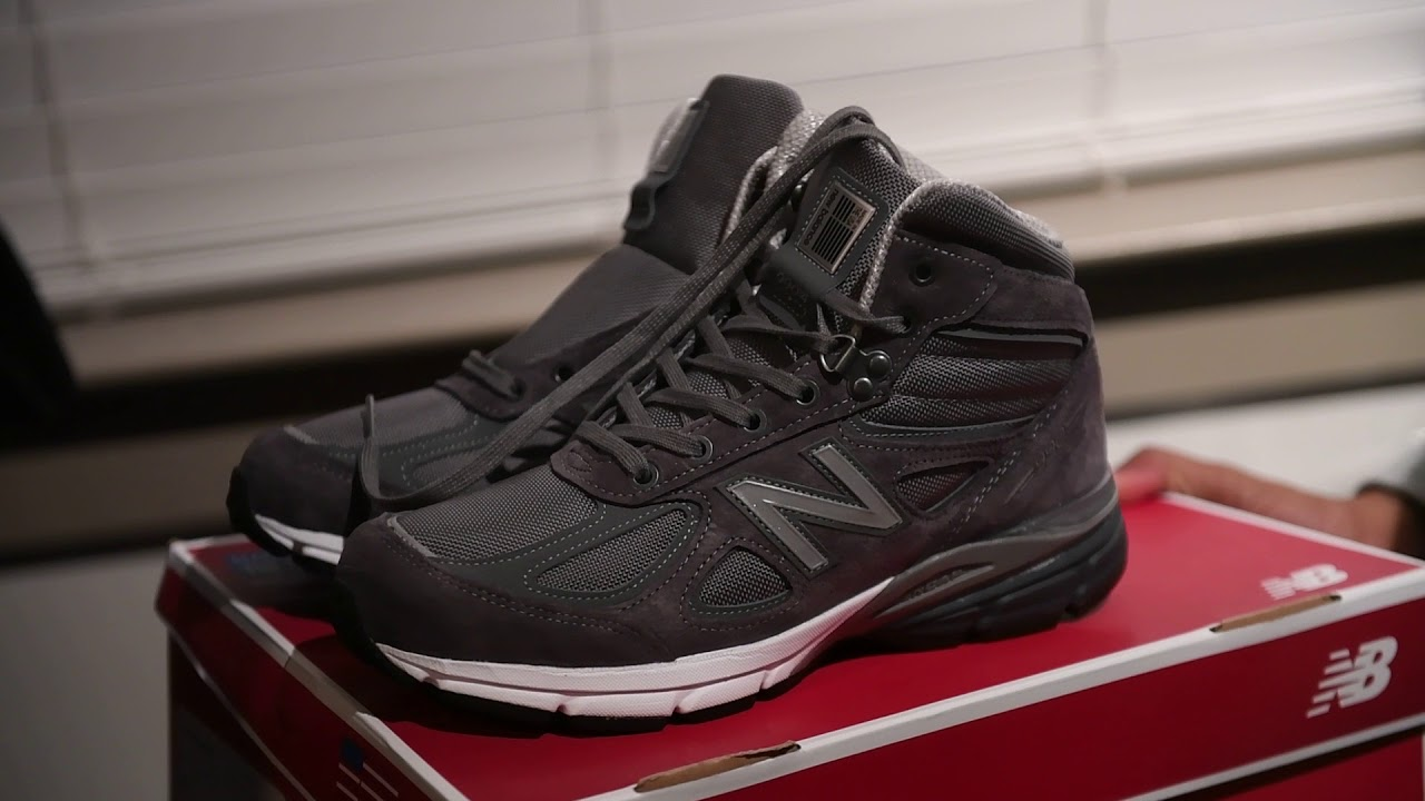 meet 9bf48 45940 New Balance 990v4 Boot (Dope or Nope)