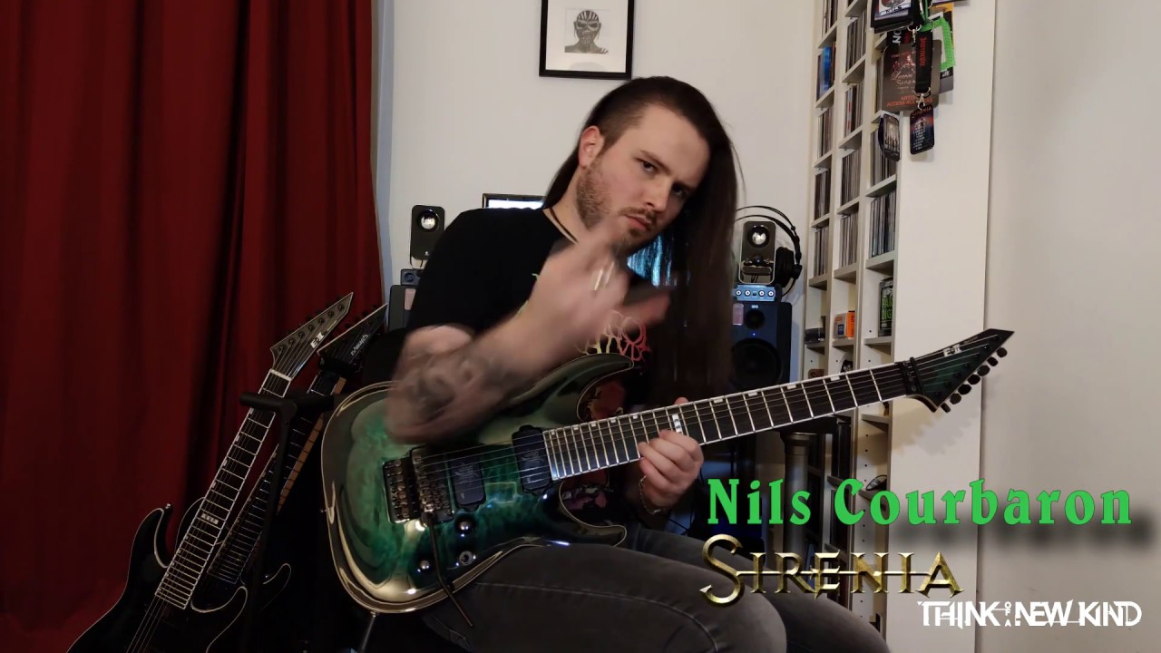 Guitarist Nils Courbaron (Sirenia) plays'n'greets from the studio