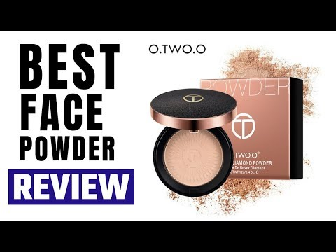 Best Face Powder for Daily Use: O.TWO.O Natural Mineral Foundations Oil-control Face Powder
