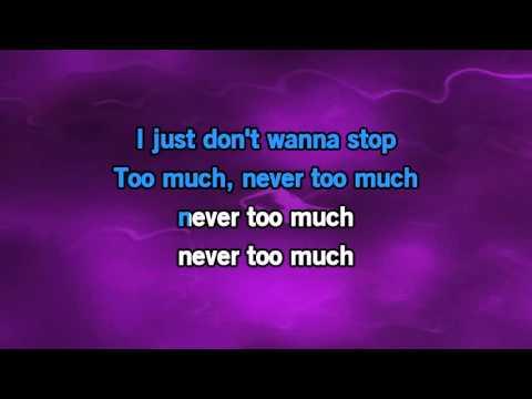 Luther Vandross Never Too Much Karaoke
