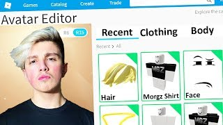 MAKING MORGZ a ROBLOX ACCOUNT