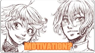 Über MOTIVATION (+ Nono/Aiven Speedpaint)