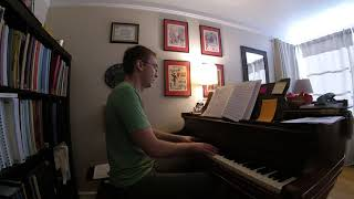 """Almost Like Being In Love"" Piano Accompaniment"