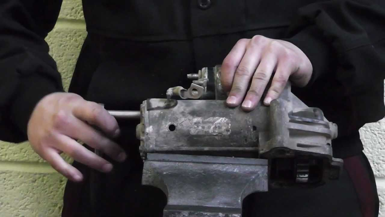 How To Change A Starter Motor On A Ford Transit  impremedia