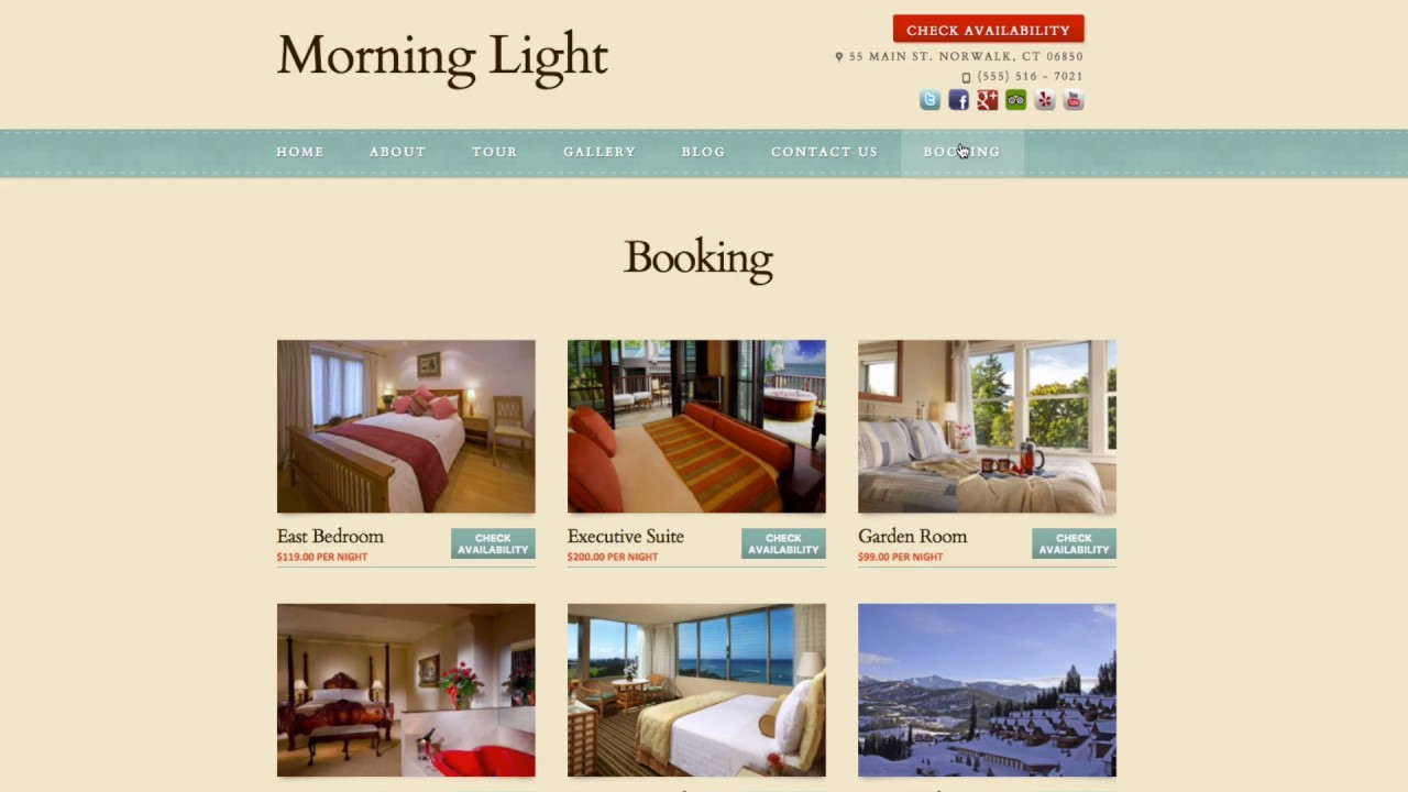 Web Design For Hotels, Inns & B&Bs · Hotel Propeller
