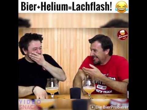 Bier+Helium = Lachflash