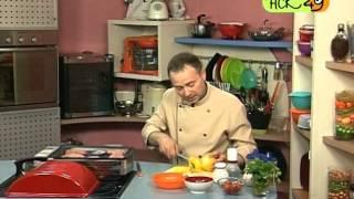 Газовый гриль: готовим котлеты барбекю