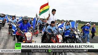 Bolivia: Evo Morales lanza su campaña electoral en busca de un cuatro mando