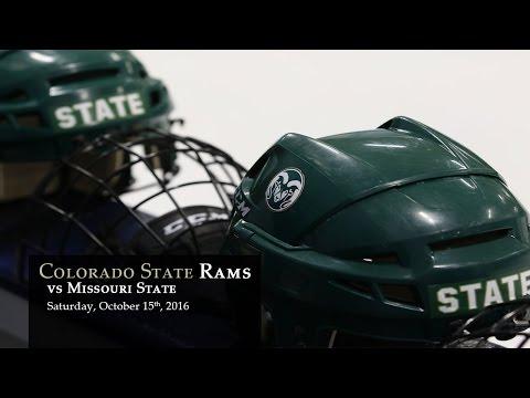 CSU Rams Hockey vs Missouri State - Oct 15, 2016