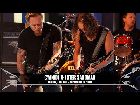 Metallica: Cyanide & Enter Sandman MetOnTour  London, England  2008