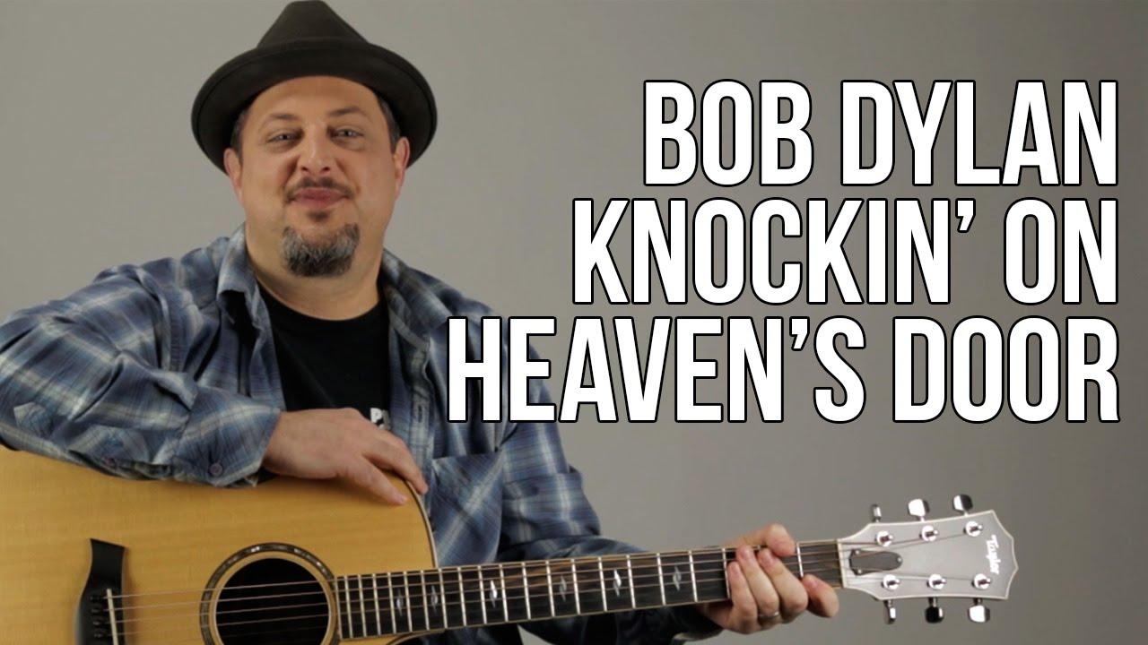 Knocking On Heavens Door Super Easy Acoustic Songs For Guitar