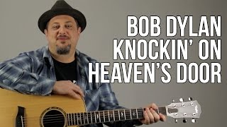 Knocking on Heaven's Door - Super Easy Acoustic Songs for Guitar - Guitar Lesson