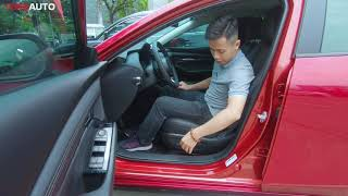 Cách sử dụng ghế, cửa, gương hậu trên Mazda 3 2020