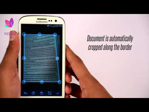 The New Best Android App - CamScanner