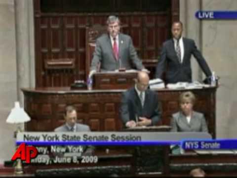 Raw Video: GOP Seizes Control of NY Senate