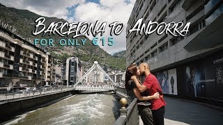 BARCELONA TO ANDORRA FOR ONLY €15 BY BUS | IAN AND MAR TRAVEL TIPS AND GUIDES