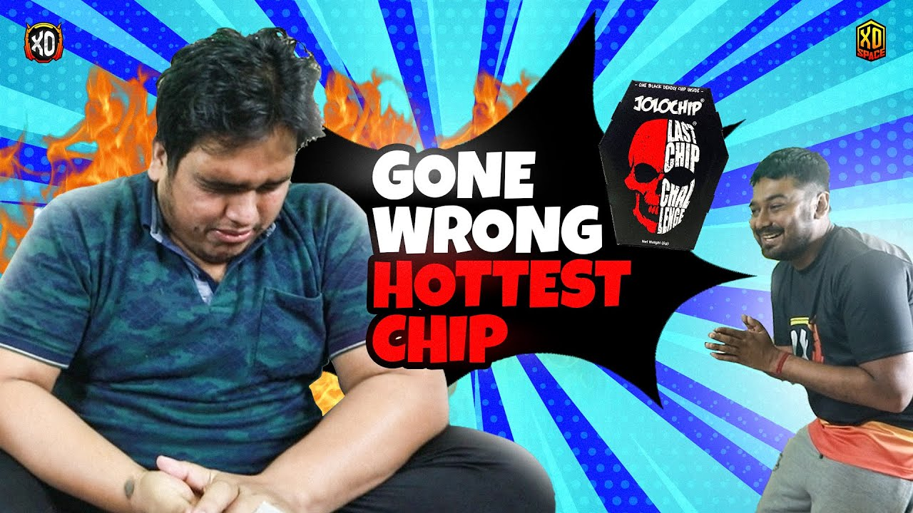 World's Most Spiciest Chip Challenge | ROCKY KA BADLA - Garena Free Fire