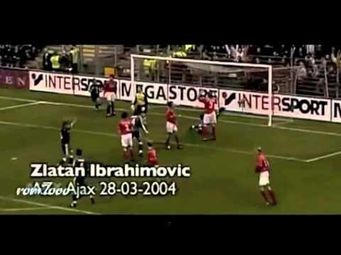 "Zlatan Ibrahimovic Top Ten Goals Ever ""New"""