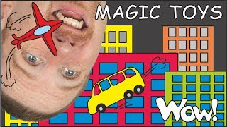 Magic Toys for Kids   English with Steve and Maggie   Magic English Story for Kids by Wow English TV