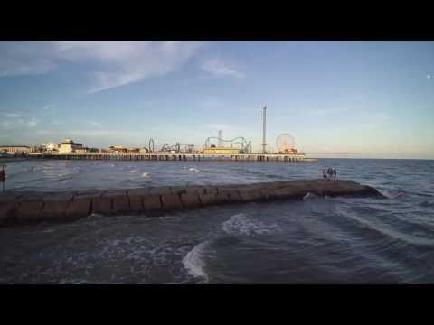 Galveston, TX with my new drone.