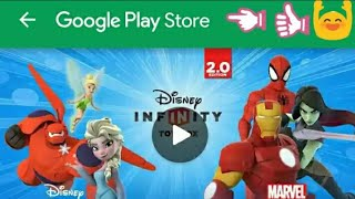 How to download Disney infinty toy box 2.0/3.0 on android from playstore.