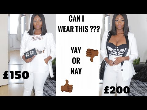 WATCH ME STYLE IT UP SIS !! :  Can I wear this to an all white party? streaming vf