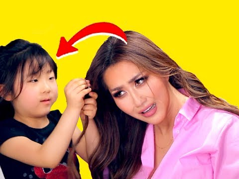 ★-top-4-lazy-1-min-hairstyles-&-💜-my-5-yr-old-korean-niece-does-my-hair!