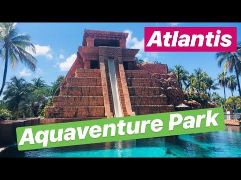 Atlantis Aquaventure Waterpark! | Paradise Island Bahamas | Tour & Slide POVs!