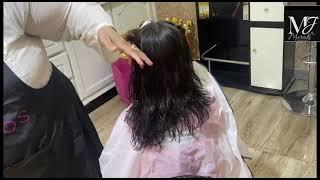 Best hair cut for short hair// step and layer cut