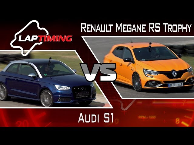 Ide termettek. Audi S1 vs. Renault Megane RS Trophy (LapTiming ep. 68)