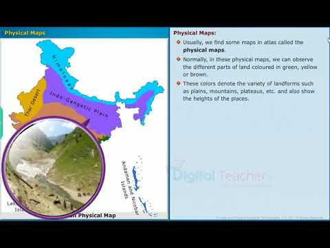 Unit 1 Reading Maps of Different Kinds | Telugu State Board (AP & TS) - Class VII