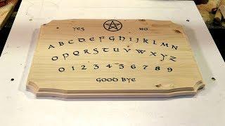 Making of Noctua, ouija board by Uroboros