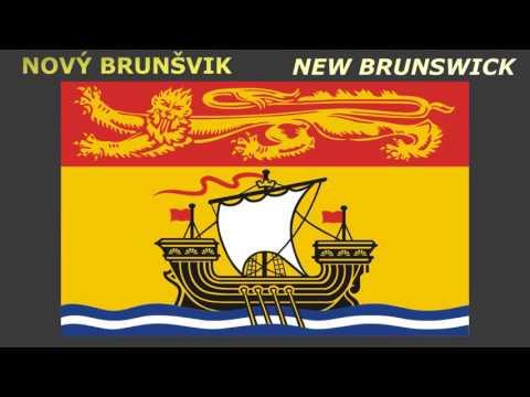 Flags of Canadian provinces and Territories - Vlajky Kanadských provincií a teritorií