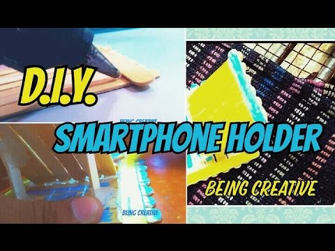 HOW TO MAKE A DIY SMARTPHONE HOLDER[easy]