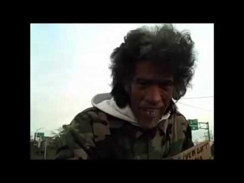 Homeless Man w/ Golden Radio Voice Surfaces in Marrakesh