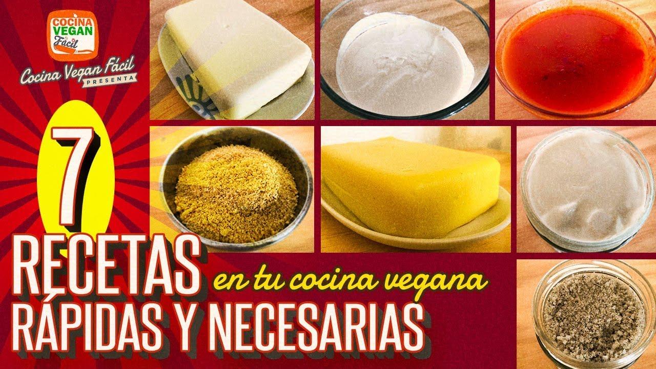 7 Recetas Basicas Y Rapidas En Tu Cocina Vegana Cocina Vegan