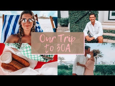 OUR TRIP TO 30A & ROSEMARY BEACH, FLORIDA   Follow Along Our Vacation