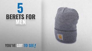 Top 10 Berets For Men [2018]: Carhartt Acrylic Watch Hat Fedora