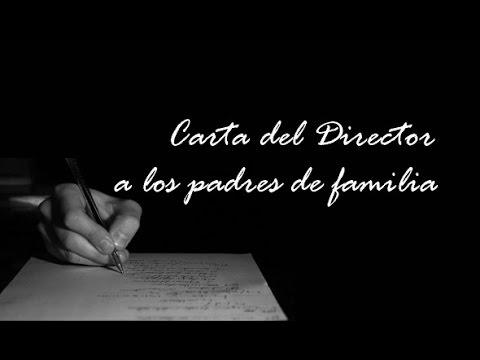 CARTA DE UN MAESTRO A LOS PADRES DE FAMILIA